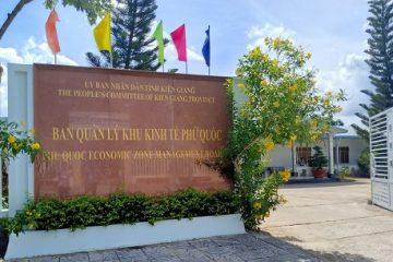 Ban Quản lý Khu kinh tế Phú Quốc.