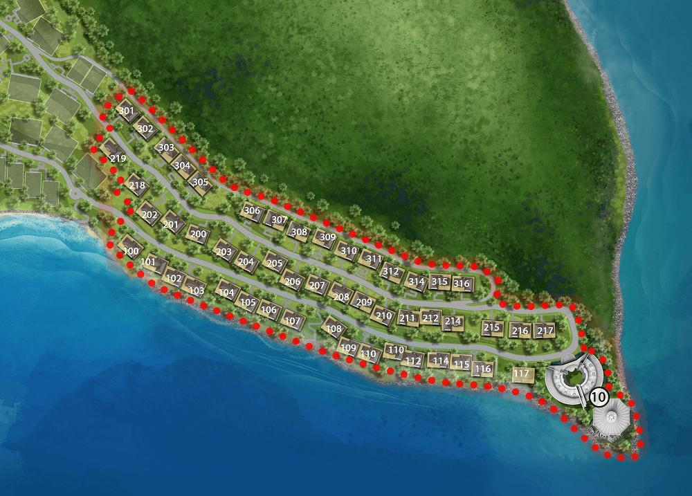 mat bang dự án biệt thự Sun Premier Village The Eden Bay