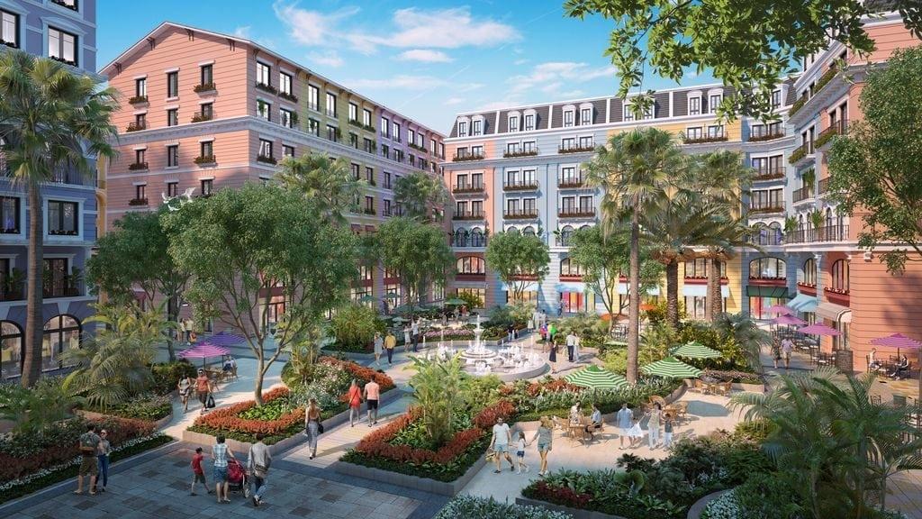 công viên tiện ích dự án Phu Quoc Marina Square