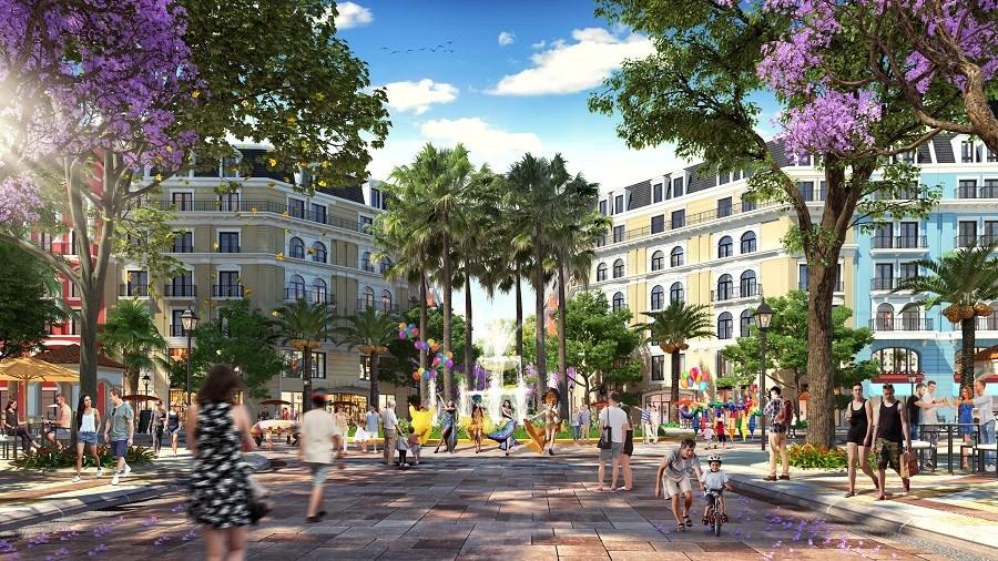 phố đi bộ Phu Quoc Marina Square