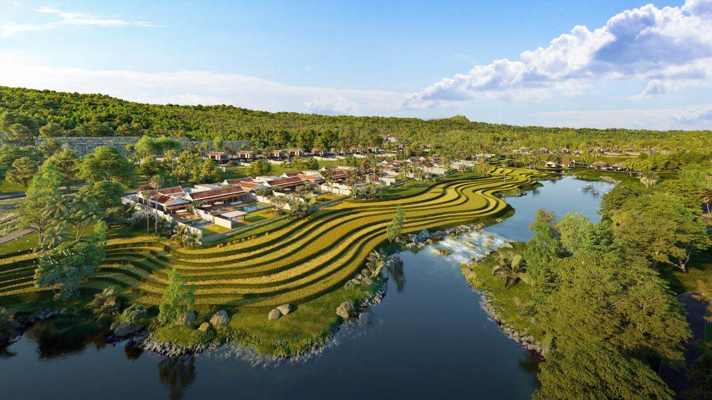 view tu ho nuoc biệt thự Park Hyatt Residences Phu Quoc