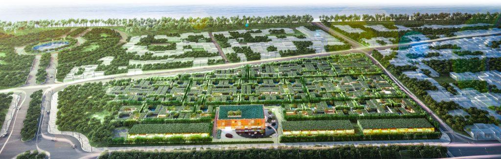 phối cảnh dự án wyndham garden phú quốc