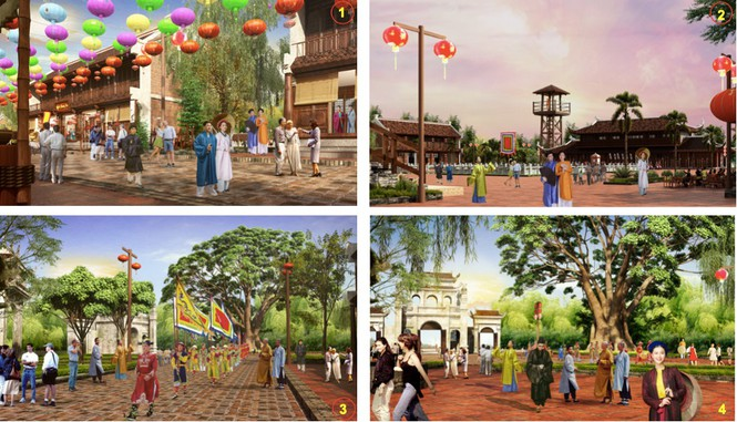 Các hoạt động tái hiện văn hóa Việt Nam tại Grand World Phú Quốc