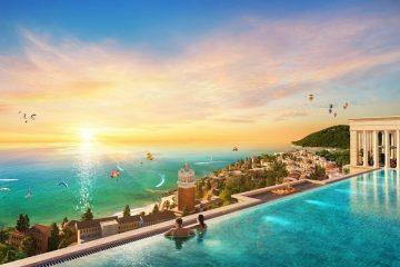 Từ dự án có thể thu trọn vào tầm mắt các công trình biểu tượng do Sun Group kiến tạo tại Nam đảo