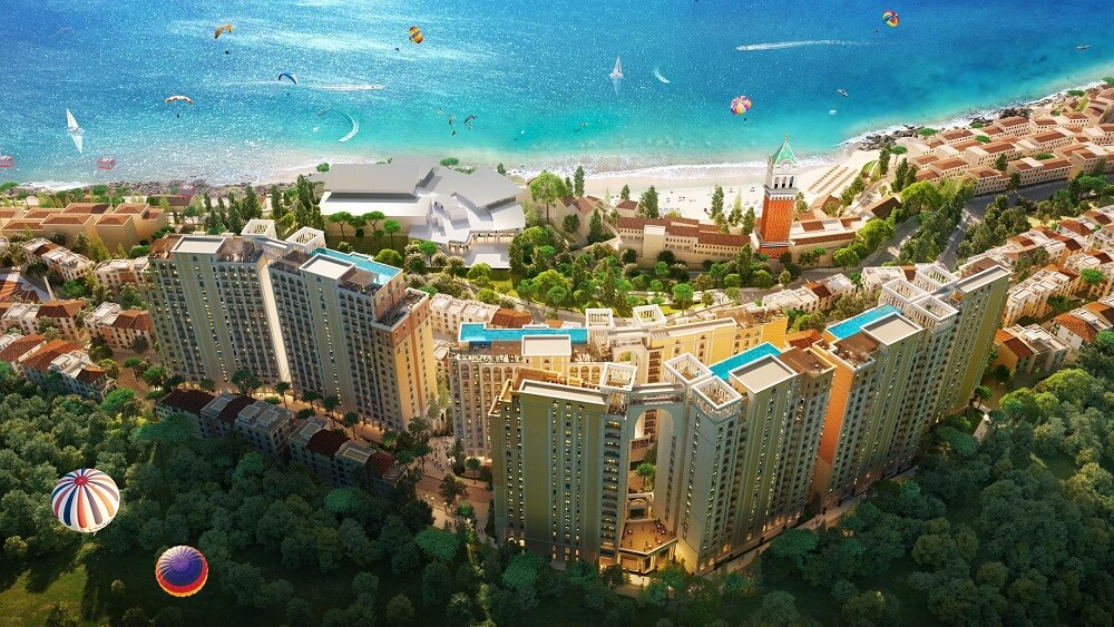 Sun Grand City Hillside Residence là tổ hợp căn hộ cao tầng sở hữu vị trí đắc địa bên bờ Nam đảo Ngọc