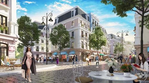 Boutique Shophouse Melodia sẽ là khu phố mua sắm sầm uất kề bên quảng trường rộng 8500 m2 ở Nam Phú Quốc.