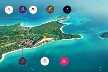 Hệ sinh thái các dự án của Sun Group tại Nam Phú Quốc