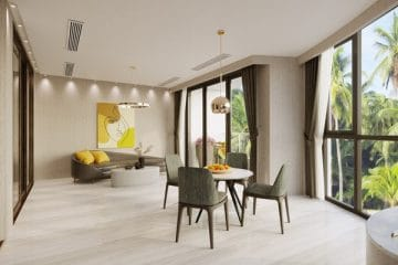 Nội thất căn hộ VIP trong Long Beach Resort Phú Quốc