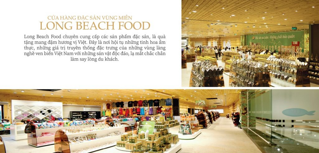 Cửa hàng đặc sản vùng miền Long Beach Food