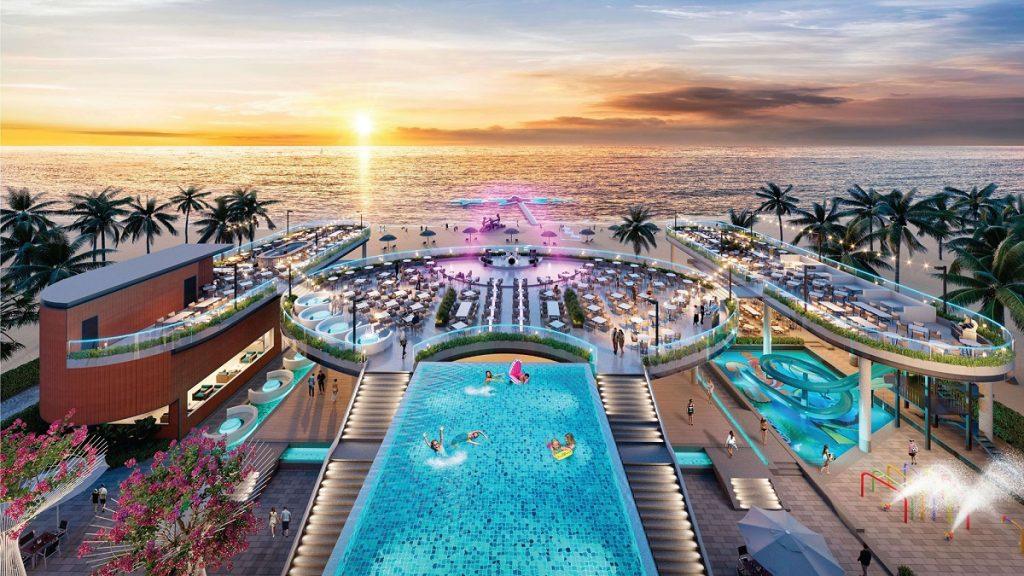 Hồ bơi tại Long Beach Resort Phú Quốc