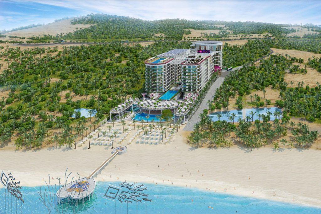 Tổng thể dự án Best Western Plus Long Beach Resort Phú Quốc