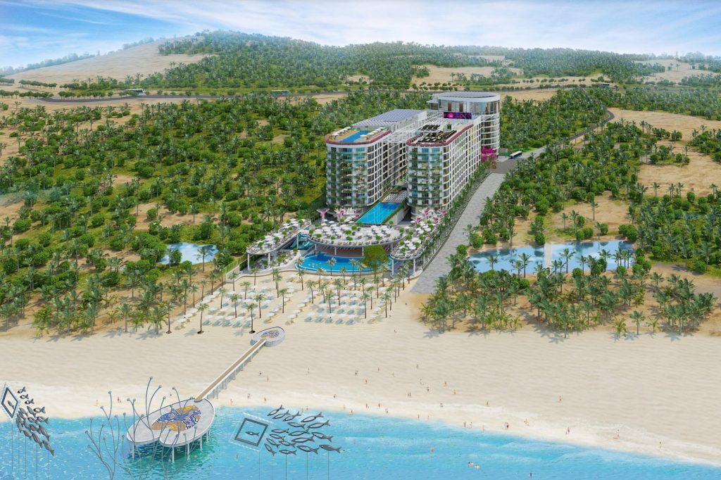 Phối cảnh Long Beach Resort Phú Quốc