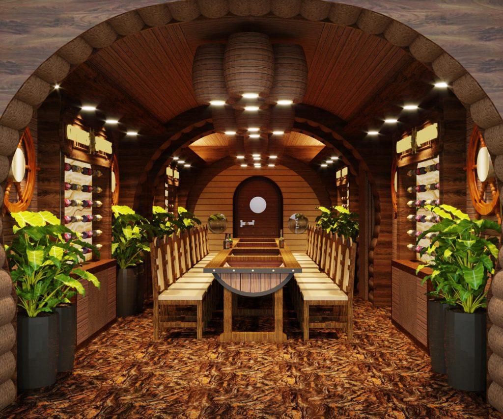 Nhà hàng tại Long Beach Resort Phú Quốc