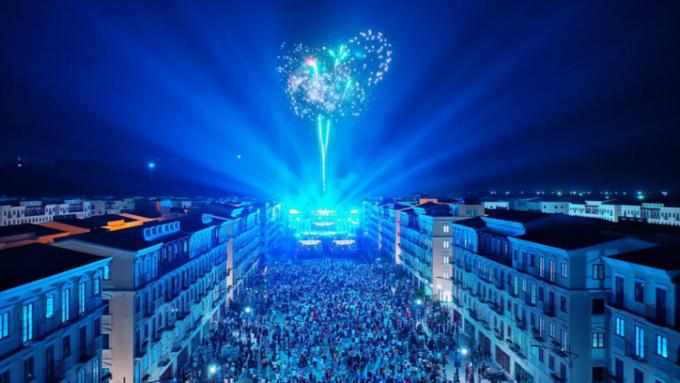 Nam Phú Quốc sôi động trong sự kiện công bố Phú Quốc lên thành phố.