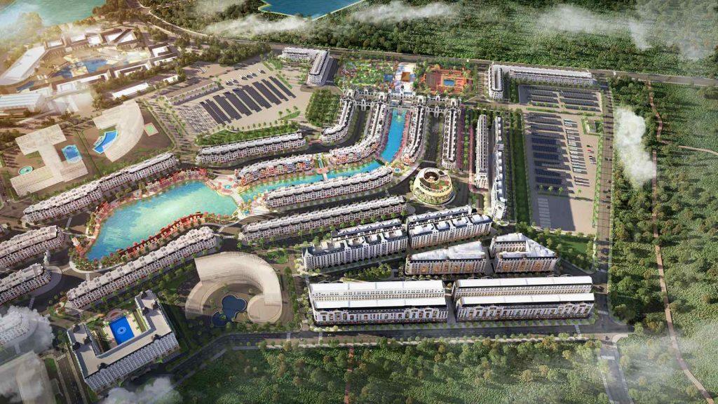 Phối cảnh quần thể Grand World Phú Quốc