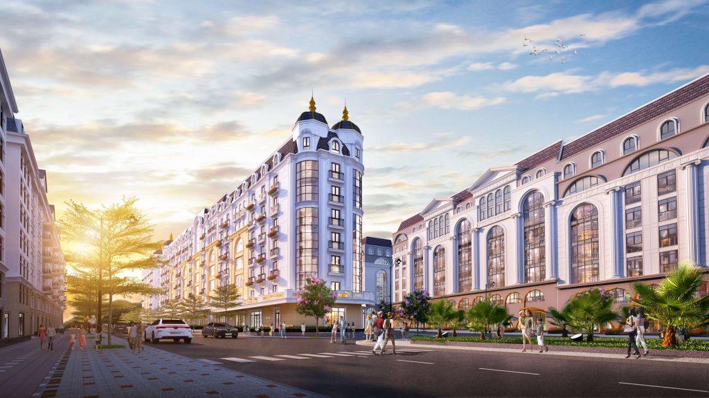 Phối cảnh Boutique Hotel Grand World Phú Quốc