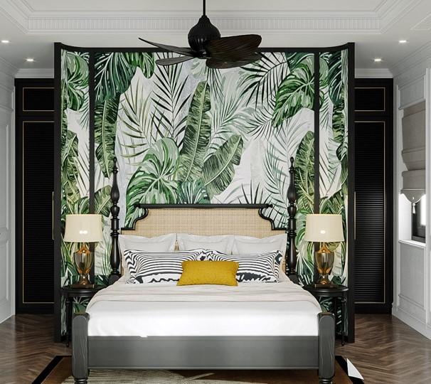 phòng ngủ biệt thự đơn lập sun tropical
