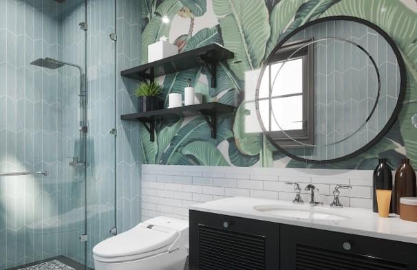 phòng tắm biệt thự song lập