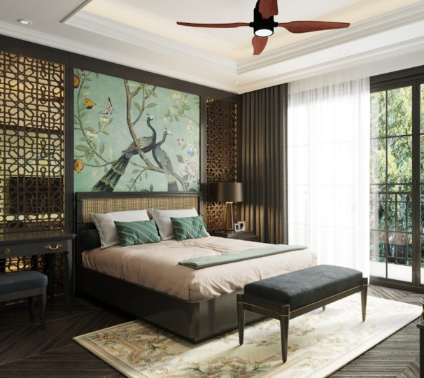 thiết nội thất biệt thự tứ lập sun tropical village phú quốc
