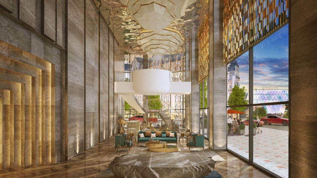 Mẫu thiết kế nội thất cho mini hotel grand world Phú Quốc